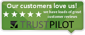 Trustpilot reviews badge